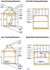 10 X 16 Shed Plans Free by 12x16 Barn Shed Plans Plan Shed