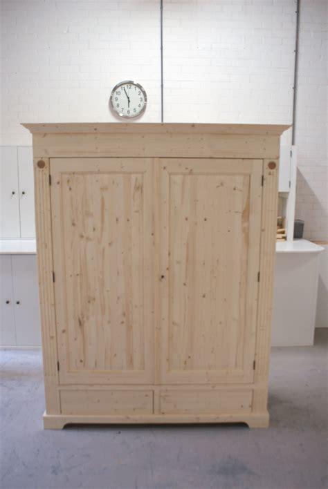 Houten Kast by Blank Houten Kast Kasten Op Maat Gemaakt De Grenenhoeve