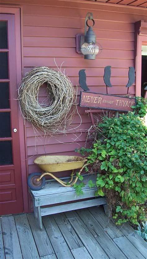 Best Images About Primitive Porch Outdoor