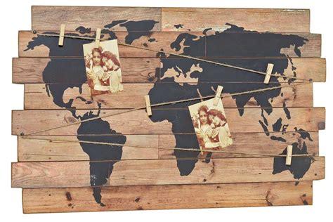 Bilder Holz Deko by Nostalgie Wandbild Weltkarte Deko Wandobjekt Holz