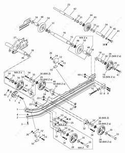 Ski Doo 1997 Mx Z - 440 Lc  Rear Suspension