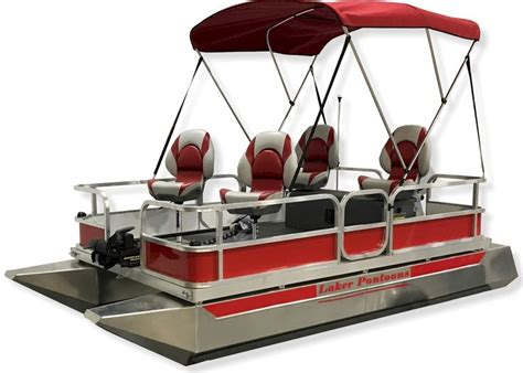Small Pontoon Boats by Best 20 Mini Pontoon Boats Ideas On Small