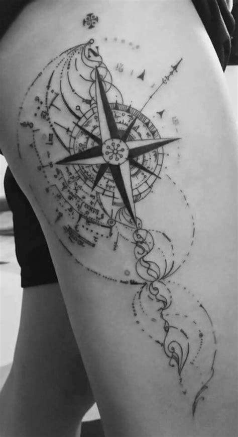 1001+ Idées  Tattoo Cuisse  48 Tatouages De Caractère
