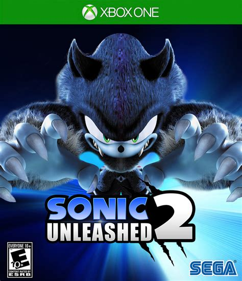 sonic unleashed fan game sonic unleashed 2 xbox one cover by creativeanthony on