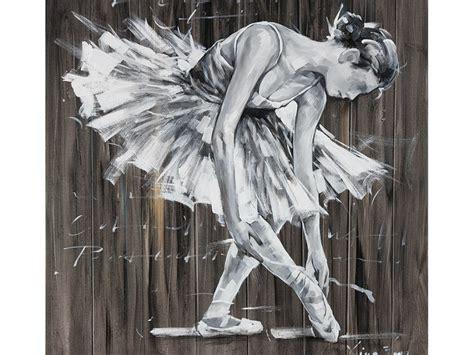 fauteuil de bureau sport peinture à l 39 huile danseuse 100 100cm balletto