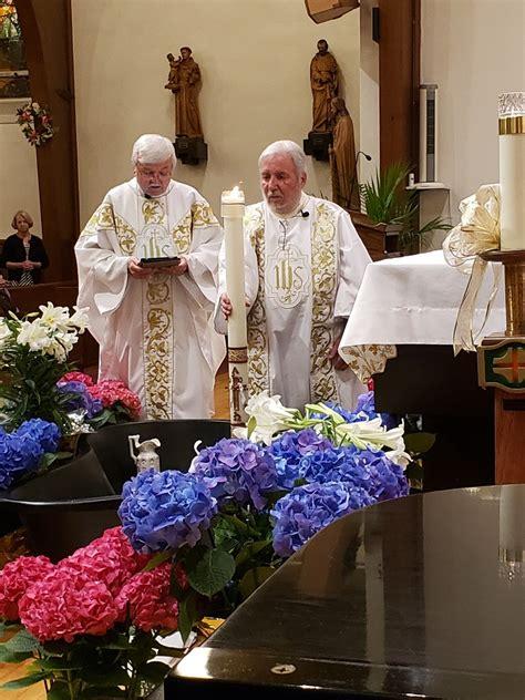 holy week  easter vigil visitation roman catholic church brick nj