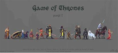 Pixel Thrones Character Wallpapers Characters Luczynski Animated