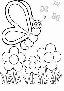 Ausmalbilder, Schmetterling, 35