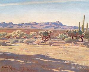 Desert Afternoon Painting by Maynard Dixon