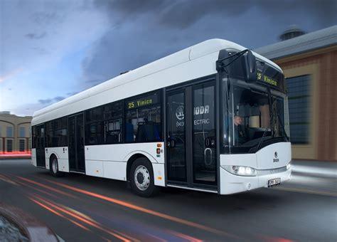 electric bus  fast charging skoda transportation