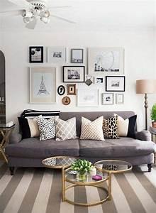 deco salon gris 88 super idees pleines de charme With delightful couleur de peinture de salon 8 decoration salon orange et marron