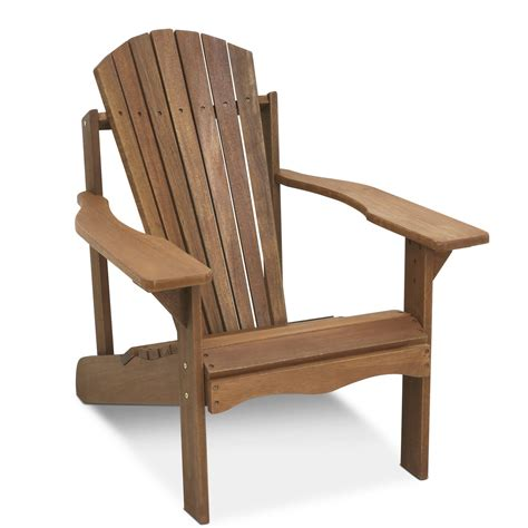 furinno tioman teak hardwood adirondack patio chair