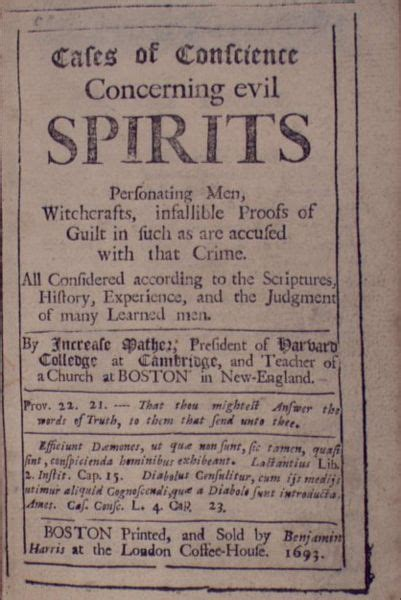 Causes of the salem witch hunt the salem witch hunt is an event in history that caused many of good innocent people to be hanged. Salem Witch Trials: A Journey Through the Eyes of the ...