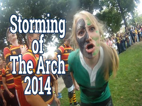 storming   arch  juniata college youtube