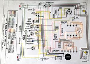 Wiring Diagram For 1952 Ford F4