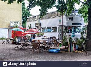 Bvg Shop Berlin : tables and cahirs outside a street cafe kjosk in a 1965 bvg bus stock photo royalty free ~ Orissabook.com Haus und Dekorationen