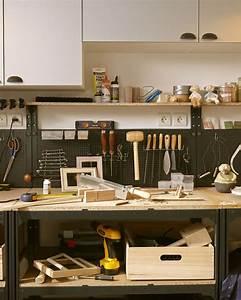 La Maison Möbel : le coin bricolage de la maison id e de rangement ~ Watch28wear.com Haus und Dekorationen