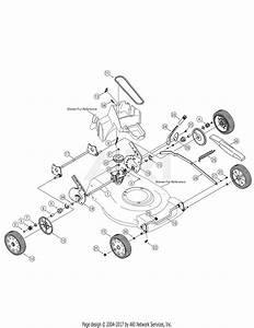 Troy Bilt 12ag839e711  2005  Parts Diagram For Drive