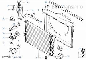 Radiator  Expansion Tank  Frame