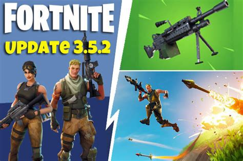 fortnite update  early patch notes revealed  epic