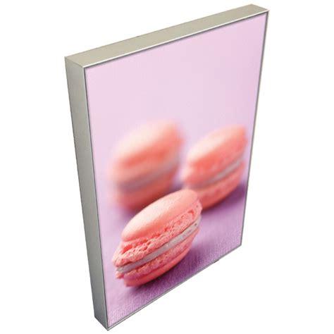 cadre photo lumineux led cadre textile ultramince lumineux