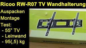Test Tv Wandhalterung : ricoo rw r07 tv wandhalterung auspacken montage review test mit tv leinwand monitor max ~ Eleganceandgraceweddings.com Haus und Dekorationen