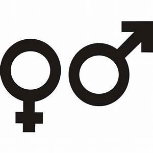 Sigle Homme Femme : sticker symbole homme femme 60cm de haut achat vente ~ Melissatoandfro.com Idées de Décoration