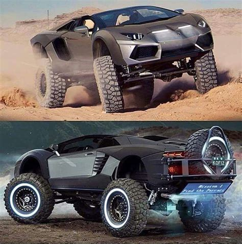 Custom Lambo 4x4  Car Jacked  Pinterest  4x4, Cars