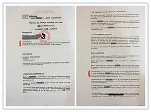 Litige Avec Assurance : litiges assurance v hicule jugements 0716 ~ Maxctalentgroup.com Avis de Voitures