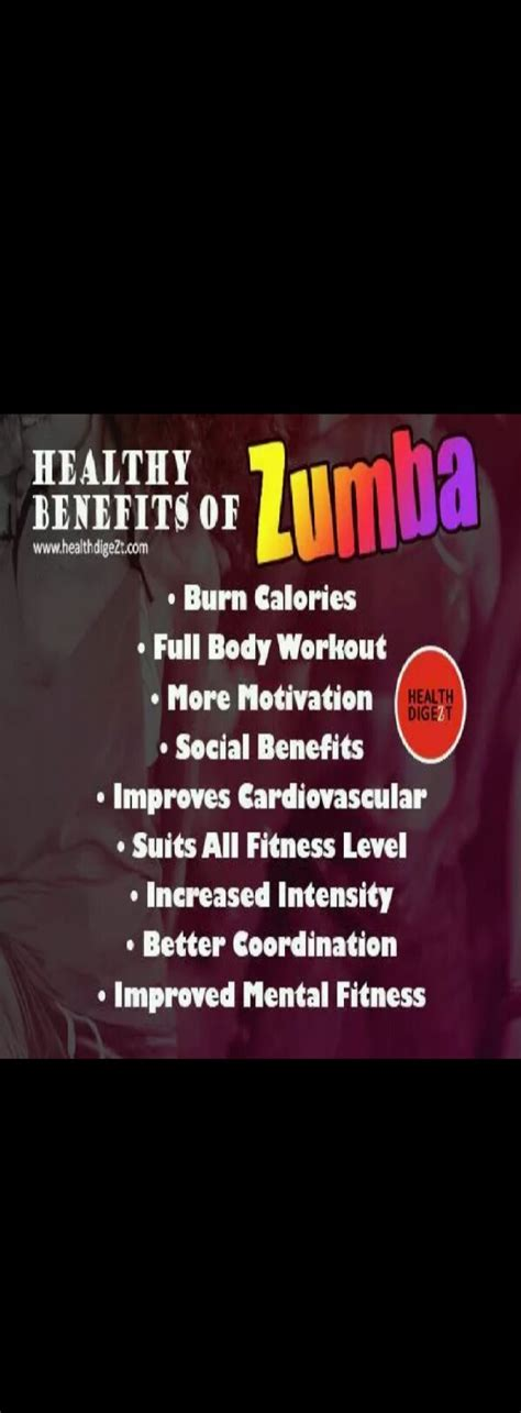 Awesome Health Benefits Of ZUMBA! - Musely