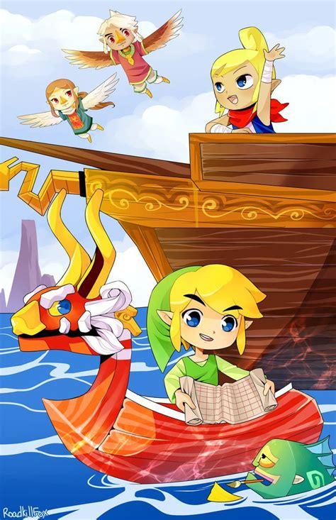 The Wind Waker By Roadkillfox Legend Of Zelda