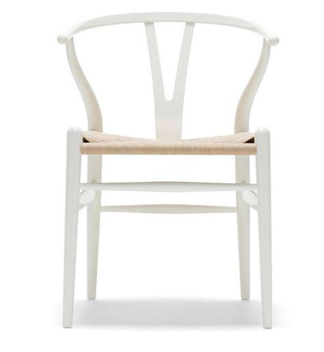 furniture hans wegner wishbone chairwhite cabana white