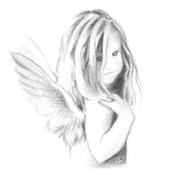 Baby Angel Drawings Sketches