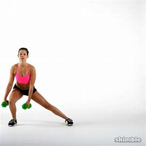 Dumbbell Side Lunge and Touch | Exercise How-to - Skimble
