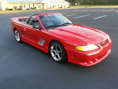 Purchase Used 1997 Ford Mustang Saleen S281 Convertible
