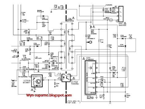 ingin berbagi ilmu dan pengalaman skema regulator tv menggunakan str w6554 str w6553