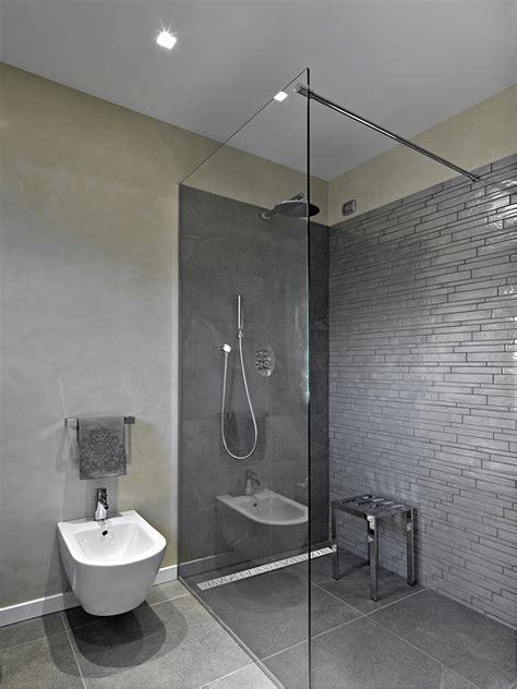 Badezimmer Begehbare Dusche by Aranżacje Vabo