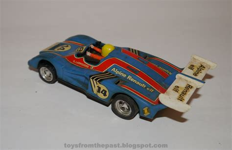 Toys From The Past  Scalextric Renault Alpine  Ee   Ee