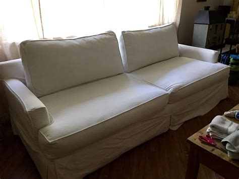 sofa company santa monica my 17 year old sofa u love couch with original white denim