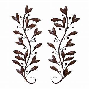 shop woodland imports 2 piece 14 in w x 36 in h frameless With kitchen cabinets lowes with metal vine wall art