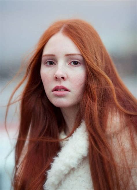 Redheads from 20 Countries Photographed to Show Their ...