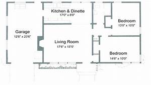 2 bedroom house plans free 2 bedroom house simple plan With houses plan two bed room