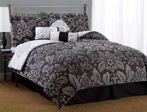 black  white bedspreads  comforters feel  home