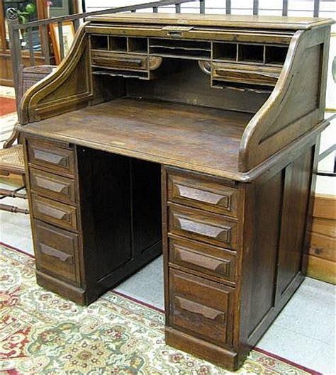 an oak roll top desk cutler desk co buffalo