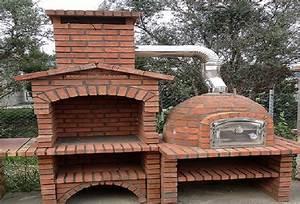Four A Pain En Kit : barbecues et four pain en briques rouge l j 1150a au ~ Dailycaller-alerts.com Idées de Décoration