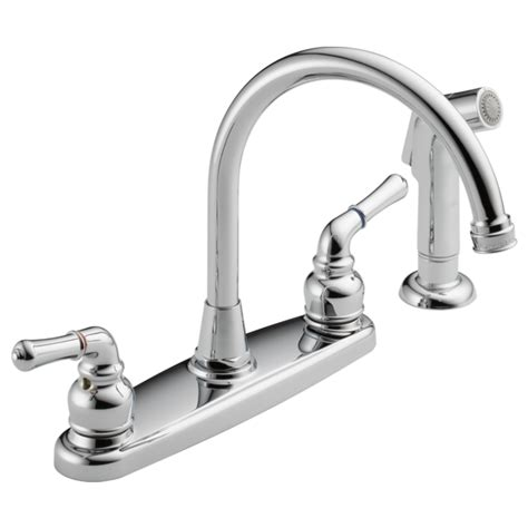 was01x two handle kitchen faucet