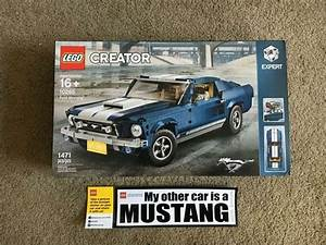 LEGO Ford Mustang Creator Expert 10265 GT 1967 Brand New Set! | Ford mustang, Ford mustang gt ...