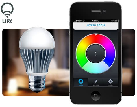 lifx lets you your lights with iphone and android
