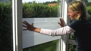 Sichtschutzfolie Für Fenster : sichtschutzfolien f r b ro und wc fenster montieren youtube ~ A.2002-acura-tl-radio.info Haus und Dekorationen