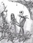 Pin Jack And Sally Sketches on Pinterest  Jack And Sally Coloring Pages